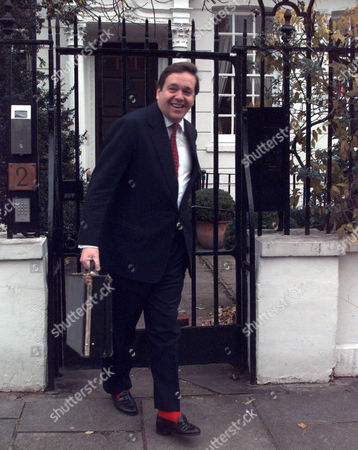 Lord Cranborne Leaves His Home Today After His Resignation From The House Of Lords.
