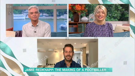 Stock Picture of Phillip Schofield, Holly Willoughby, Jamie Redknapp