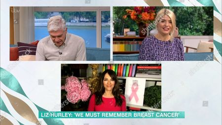 Holly Willoughby, Phillip Schofield, Elizabeth Hurley