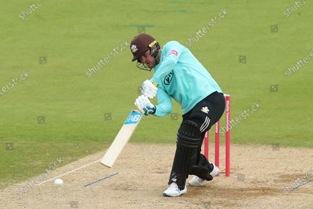 Stock Picture of Jason Roy of Surrey plays a shot