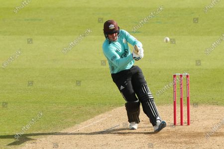 Editorial picture of Surrey v Kent Spitfires, Vitality Blast, T20 Cricket, Kia Oval, London, UK - 01 Oct 2020