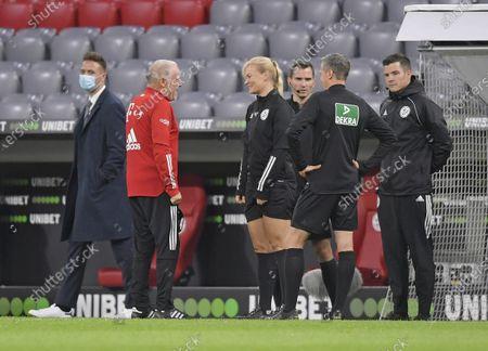 Editorial picture of FC Bayern Munich v Borussia Dortmund, DFL-Supercup, Football, Allianz Arena,  Munich, Germany - 30 Sep 2020