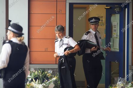 Editorial image of Croydon Cressida Dick visit, Croydon, South London, UK - 01 Oct 2020