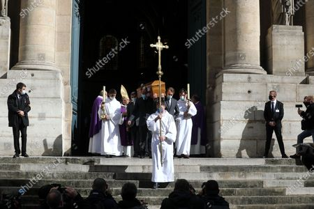 Editorial picture of Funeral ceremony of Michael Lonsdale, Paris, France - 01 Oct 2020