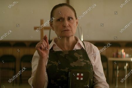Stock Picture of Beth Grant as Church Lady