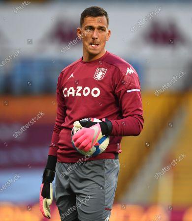 Lovre Kalinic goalkeeper of Aston Villa