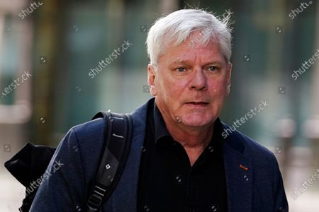 Kristinn Hrafnsson, editor-in-chief of WikiLeaks attends the trial of Julian Assange at the Old Bailey in London, Britain, 01 October 2020. Assange is fighting being extradited to the US on charges relating to leaks of classified documents allegedly exposing war crimes and abuse.