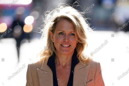 WikiLeaks founder Julian Assange's lawyer, Jennifer Robinson, attends his trial at the Old Bailey in London, Britain, 01 October 2020. Assange is fighting being extradited to the US on charges relating to leaks of classified documents allegedly exposing war crimes and abuse.