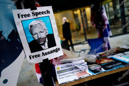 Editorial picture of Julian Assange extradition trial, London, United Kingdom - 01 Oct 2020