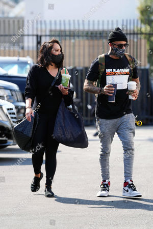 Cheryl Burke and AJ McLean