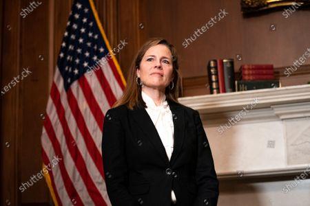 Editorial image of Amy Coney Barrett Capitol Hill Courtesy Calls, Washington, District of Columbia, USA - 01 Oct 2020