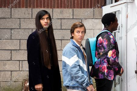 Eduardo Franco as Andrew, Skyler Gisondo as Griffin and Dexter Darden as Hags