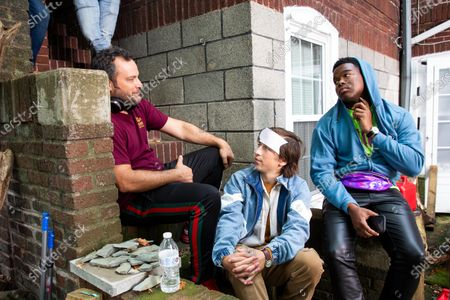 Jeremy Garelick Director, Skyler Gisondo as Griffin and Dexter Darden as Hags