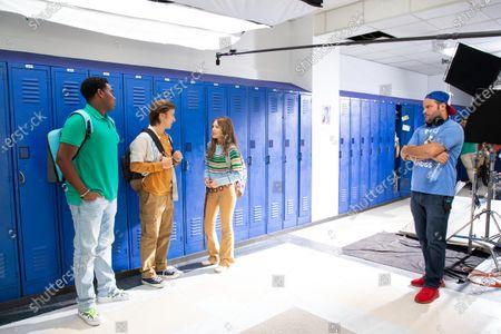 Dexter Darden as Hags, Skyler Gisondo as Griffin and Grace Van Dien as Lena