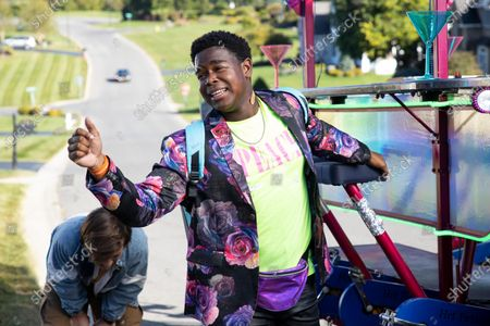 Skyler Gisondo as Griffin and Dexter Darden as Hags
