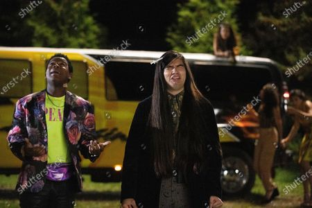 Dexter Darden as Hags and Eduardo Franco as Andrew
