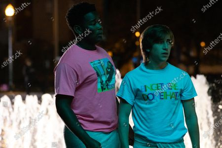 Dexter Darden as Hags and Skyler Gisondo as Griffin