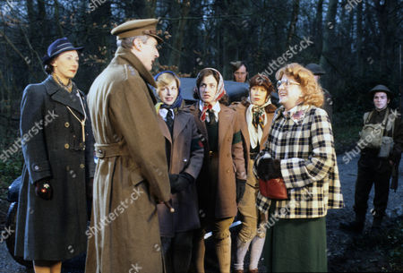 Series 3 - Geraldine Newman as Miss Rainbow, Timothy Carlton as Captain Lillie, Terese Stevens as Jenny Dabb, Philippa Howell as Shirley Bloom and Pippa Page as Bunny Burroughs with Betty Woolfe as Miss Tibble