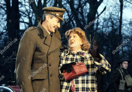 Series 3 - Timothy Carlton as Captain Lillie with Betty Woolfe as Miss Tibble
