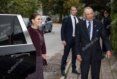 Editorial photo of Crown Princess Victoria visits Stockholm International Peace Research Institute (SIPRI), Stockholm, Sweden - 01 Oct 2020