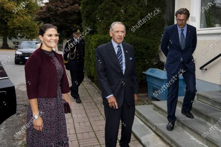 Editorial picture of Crown Princess Victoria visits Stockholm International Peace Research Institute (SIPRI), Stockholm, Sweden - 01 Oct 2020