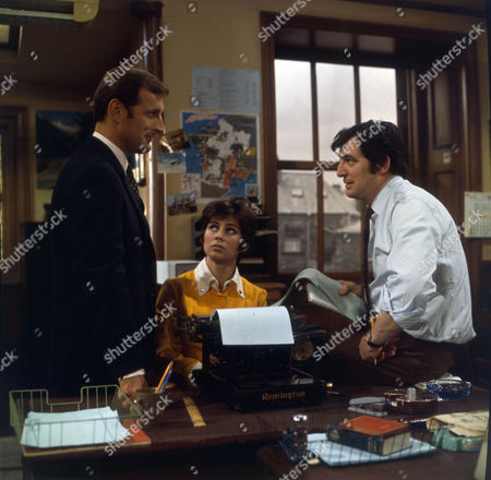 Gerald Harper as James Hadleigh, Gillian Wray as Sue Jackson and Jon Laurimore as Waiters.