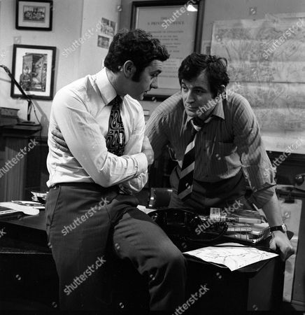 Michael Blackham as Bill Spence and Jon Laurimore as Waiters.