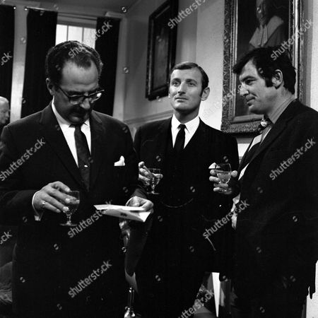 Reginald Marsh, Gerald Harper as James Hadleigh and Jon Laurimore as Waiters.