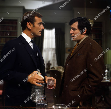 Gerald Harper as James Hadleigh and Jon Laurimore as Waiters.