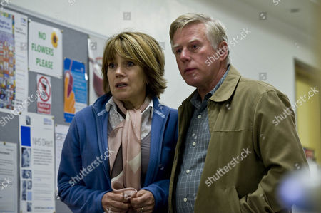 Pictured [l-r]: Christine Edwards [Jan Francis] and Brian Edwards [Phil Davis]