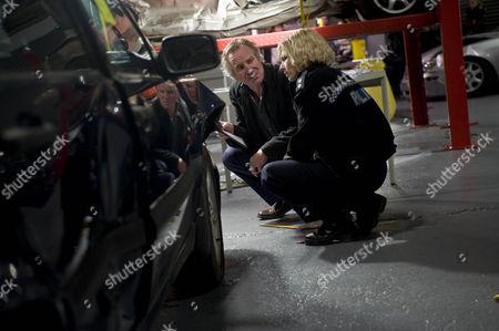 Pictured: (Nicholas Farrell) Guy Pearson and (Kate Ashfield) Ann Stallwood.