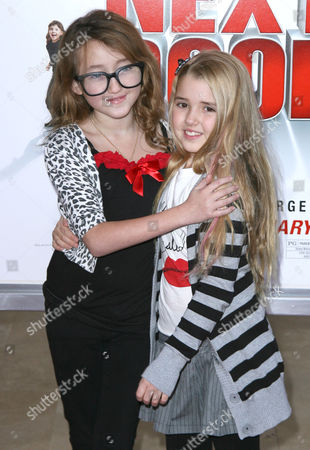 Stock Image of Noah Cyrus and Emily Grace Reaves