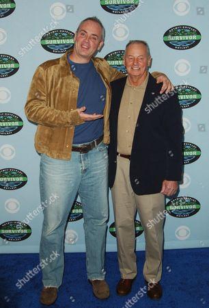 Richard Hatch and Rudy Boesch