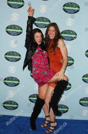 Stock Picture of Parvati Shallow and Amanda Kimmel
