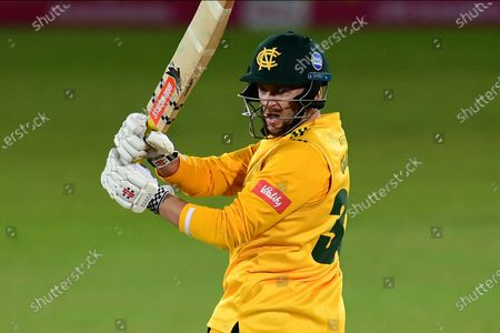 Editorial photo of Nottinghamshire County Cricket Club v Leicestershire County Cricket Club, Vitality T20 Blast North Group., quarter f - 01 Oct 2020