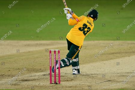 Joe Clarke of Nottinghamshire during the Vitality T20 Blast North Group match between Nottinghamshire County Cricket Club and Leicestershire County Cricket Club at Trent Bridge, Nottingham