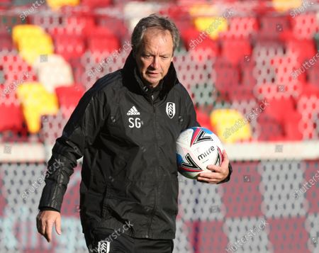 Stuart Gray the Fulham coach