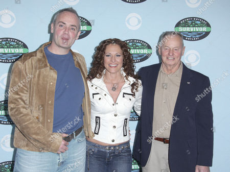 Richard Hatch, Jerri Manthey and Rudy Boesch