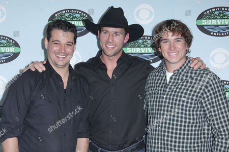 Rob Mariano, Colby Donaldson and James Thomas Jr