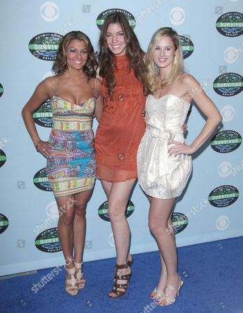 Stock Photo of Stephenie LaGrossa, Amanda Kimmel and Candice Woodcock