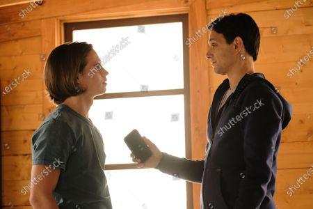 Tanner Buchanan as Robby Keene and Ralph Macchio as Daniel LaRusso