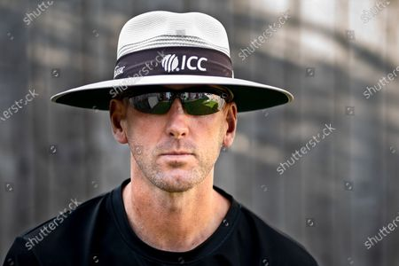Stock Picture of The Don Bradman of umpiring, as Mike Atherton cast him this summer, is considering the most obvious question - why is he so good? Sitting at the kitchen table of his Hartlepool home, rather than standing behind the stumps at Old Trafford or the Ageas Bowl, Michael Gough's trademark deliberation is just the same. He may be slightly embarrassed by the subject, but with a phenomenal record of just five of his 70 reviewed decisions overturned this year - a success rate of 93 per cent that makes him the best umpire in the world - Gough has some explaining to do. Finally, he answers. 'I read a lot about top sportsmen and their one-per-cent gains, the small margins that make a big difference,' begins the 40-year-old, in his first interview since emerging as one of the stars of the summer. 'One example - every morning, I drop these little reactions balls on the hotel room floor. They fly off in different directions and I follow them, over and over. Your eyes are muscles, you should use and improve them.' The former Durham opener will later retrace a bonkers journey that saw him quit first-class cricket aged 23 and try to make it as a footballer before turning to umpiring, via a job in a pie factory and driving a taxi.