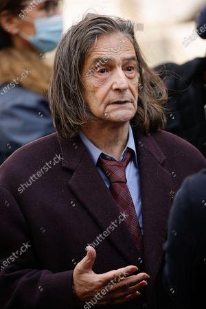 Editorial photo of Michael Lonsdale's funeral, Saint Roch Church, Paris, France - 01 Oct 2020