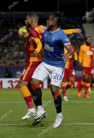 Editorial photo of Soccer Europa League, Glasgow, United Kingdom - 01 Oct 2020