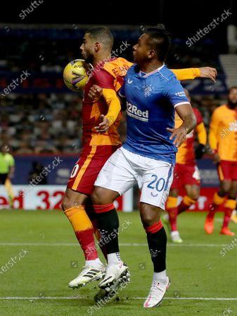 Editorial image of Glasgow Rangers vs Galatasaray Istanbul, United Kingdom - 01 Oct 2020