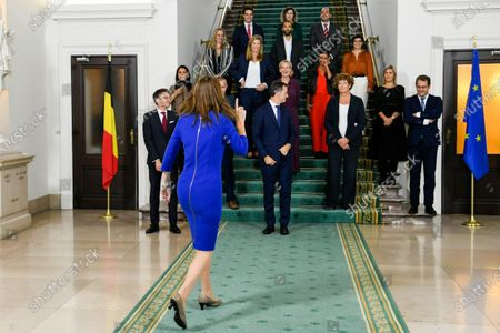 Editorial image of Government Picture, Brussels, Belgium - 01 Oct 2020