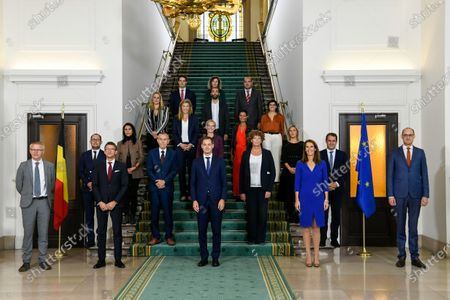 Editorial photo of Government Picture, Brussels, Belgium - 01 Oct 2020