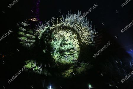 Philippe Echaroux installation , The memory of the world