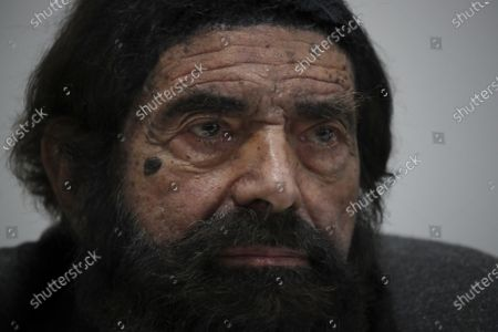 """Stock Image of French novelist and philosopher Marek Halter attends a press conference entitled """"First conference of Imams from Europe against Radicalization"""", in Paris"""