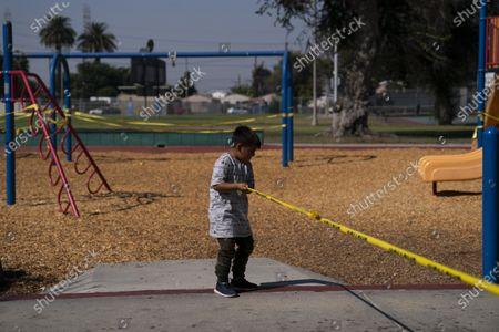 Editorial image of Virus Outbreak California, Los Angeles, United States - 01 Oct 2020